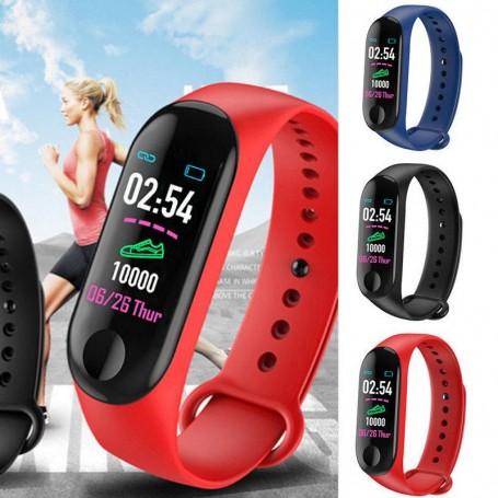 Smart Watch M3 Band Blood Pressure Bracelet Wristband Fitness Tracker Heart Rate