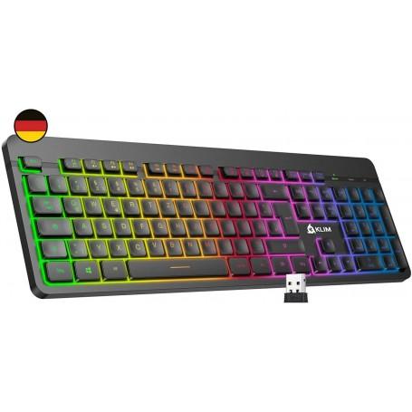 KLIM Light V2, Gaming keyboard black